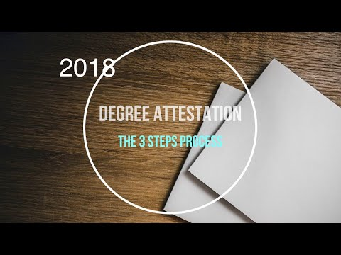 Degree Attestation | The 3 Steps Process | New Delhi | Application Form Included