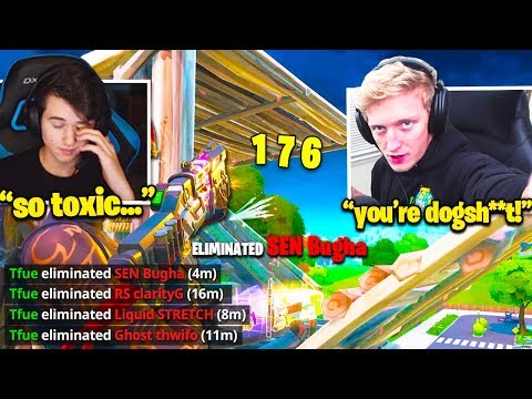 TFUE Vs BUGHA Happens And Gets TOXIC! (Fortnite)