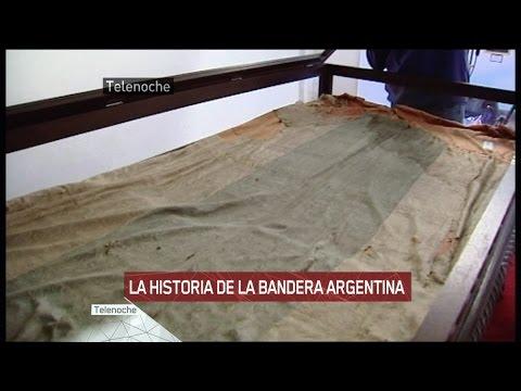 La historia de la bandera argentina