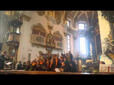 SingOut-Chor Messkirch, Konzert zum Muttertag 2015 in der Kirche St. Martin, Messkirch
