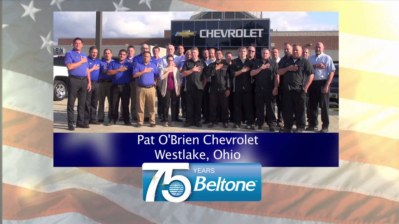 Perfect Pledge 09 07 Pat Ou0027Brien Chevrolet Westlake