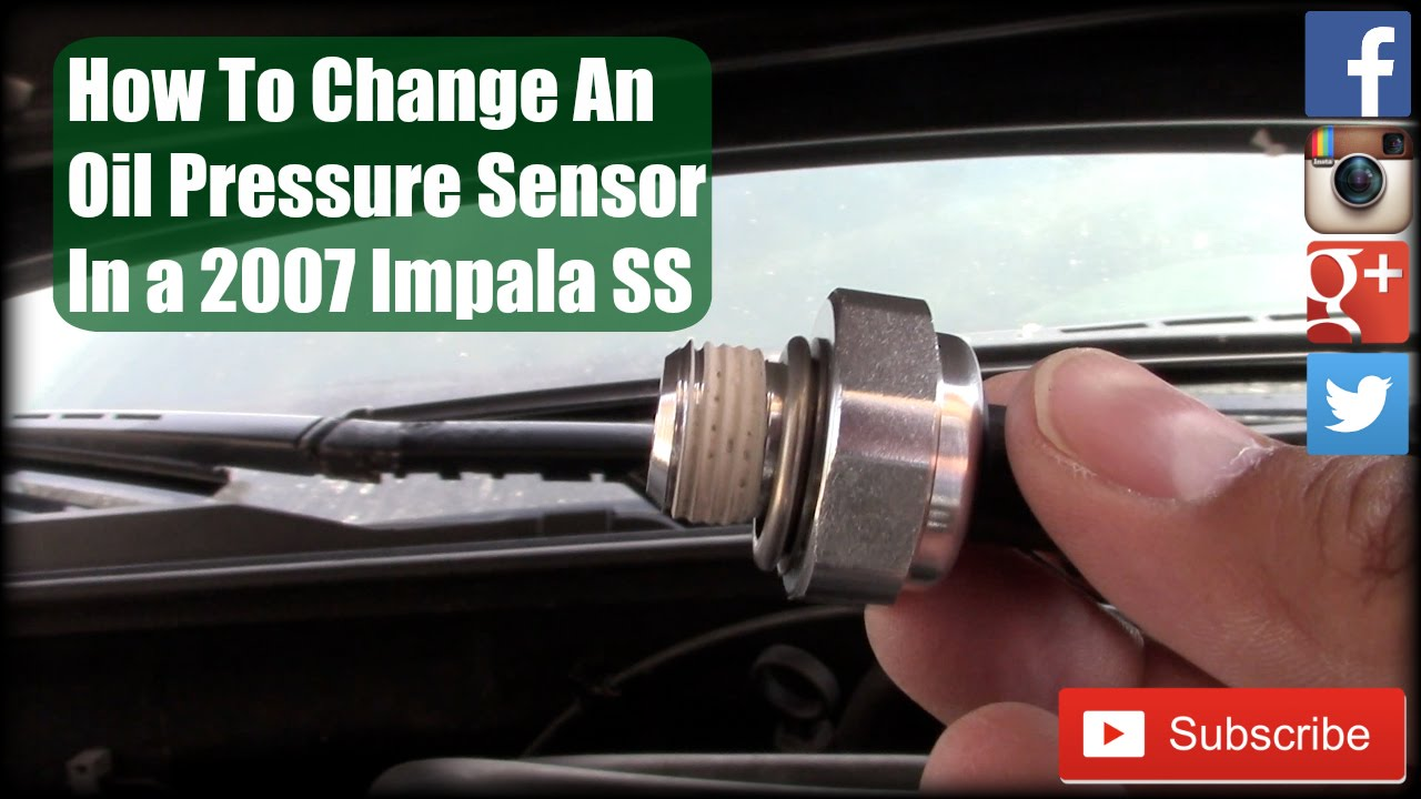 maxresdefault how to change an oil pressure sensor in a 2007 impala ss youtube  at soozxer.org