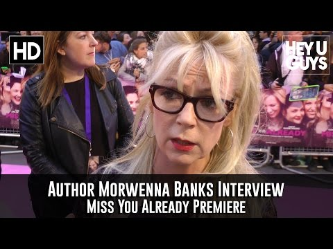 Morwenna Banks Interview - Miss You Already Premiere