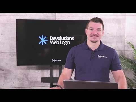 What's New in Devolutions Web Login 7.0