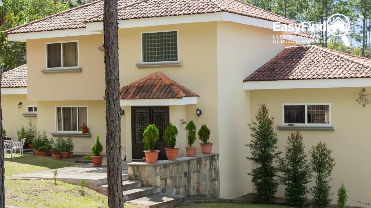Venta de bella casa en el hatillo tegucigalpa honduras for Casa de dos plantas en honduras