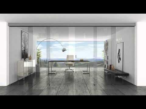 Puertas correderas klein youtube for Sistemas de puertas correderas interiores