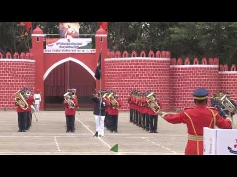 National Anthem, 17 th All India police Band competition , Video by Nirankar Arts.