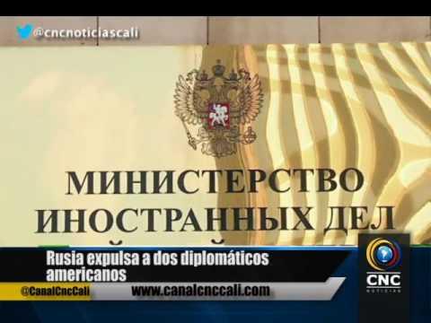 Rusia expulsa a dos diplomáticos americanos