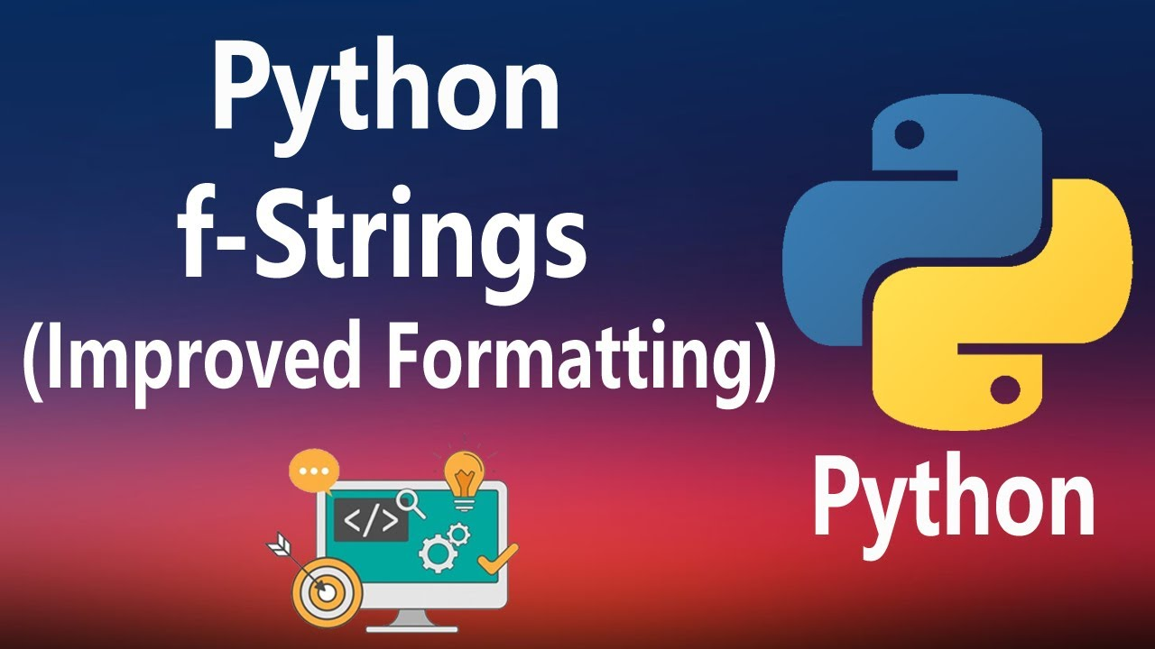 How to use f-strings in Python