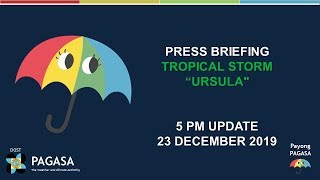 Press Briefing: Tropical Storm