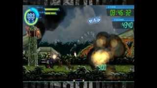 Review / Playthrough du jeu Gunhound EX sur PC en version japonaise...