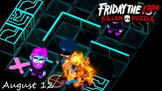 Friday the 13th Killer Puzzle Daily Death August 12 2020 Walkthrough