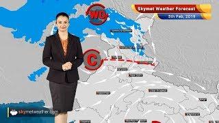 Skymet Weather Forecast Feb 5: Scattered rains over Srinagar, Chamba, Dharamshala
