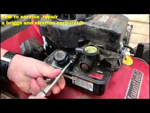 How To Service ,repair A Briggs And Stratton Carburetor