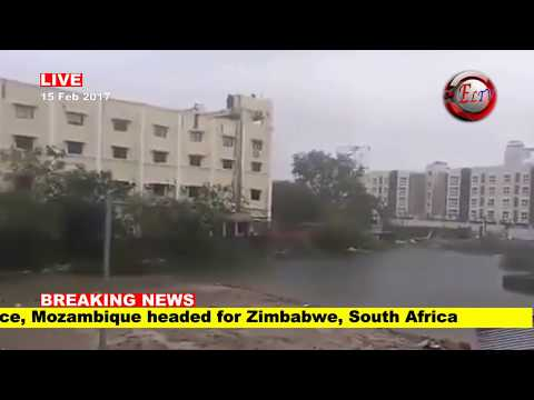 CYCLONE DINEO rips through Mozambique, Zimbabwe, South Africa