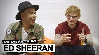 Hugo Gloss entrevista Ed Sheeran