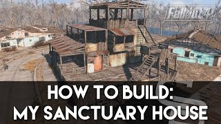 Gambar cover Fallout 4 - How To Build: My Sanctuary House! (Fallout 4 Building Tutorial)