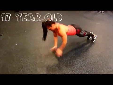 17 year old girl outperforms professional athletes