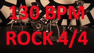 130 BPM - ROCK - 4/4 Drum Track - Metronome - Drum Beat