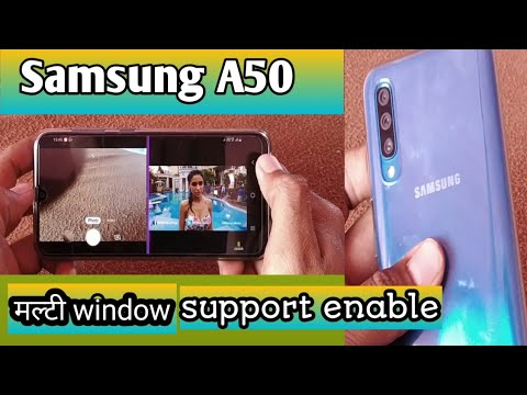 Multi window Samsung a50, how to enable pop up window, multi window in  Samsung A50