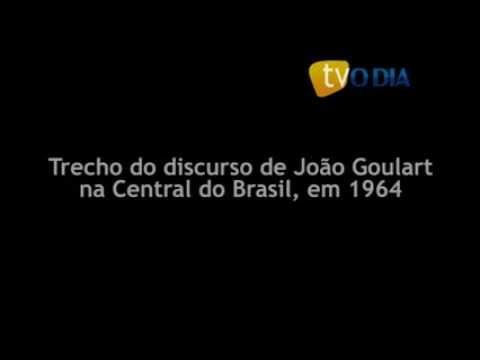 Trecho do discurso de João Goulart na Central do Brasil, em 1964