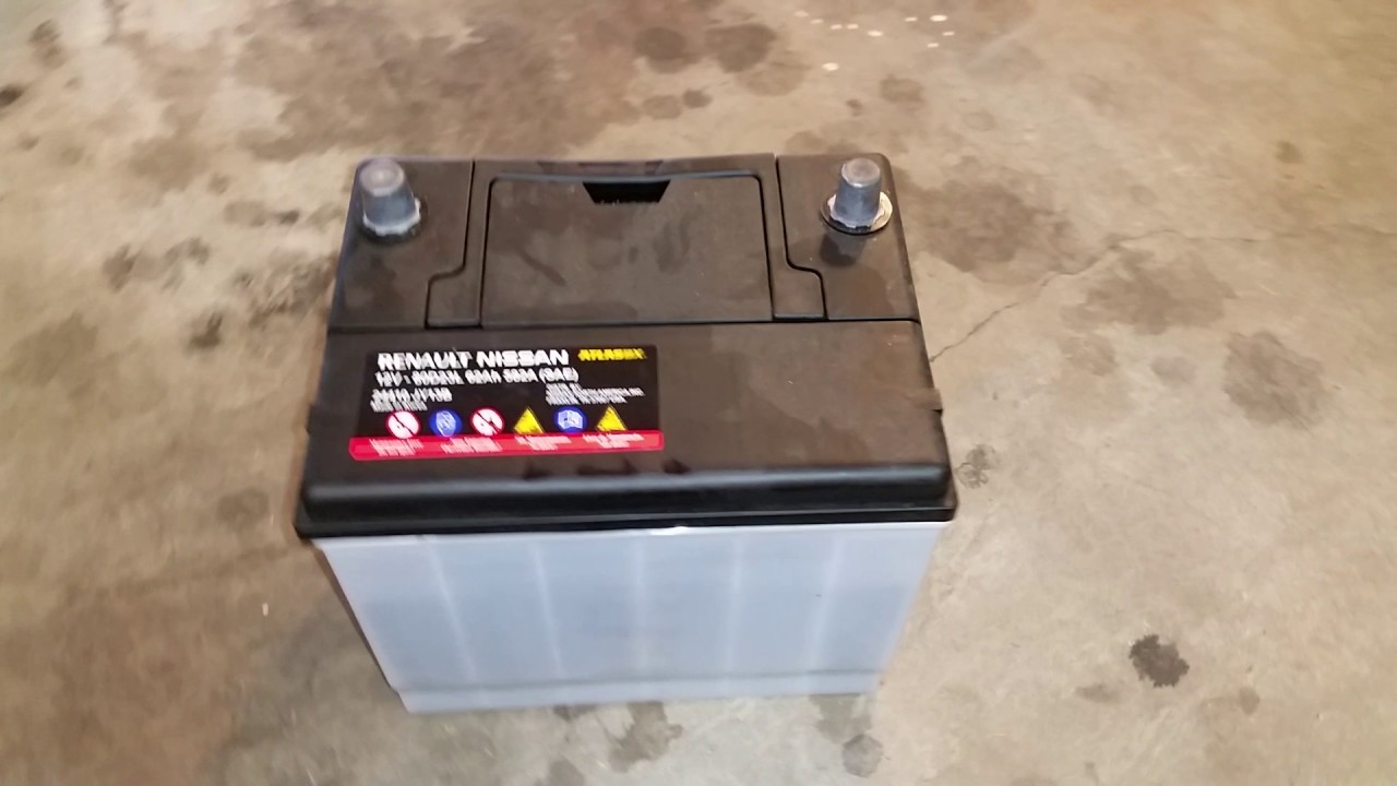 2014-2018 Nissan Rogue SUV - Dead 12V Automotive Battery ...