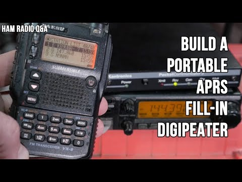 Build an APRS Fill In Digipeater - Ham Radio Q&A - YouTube