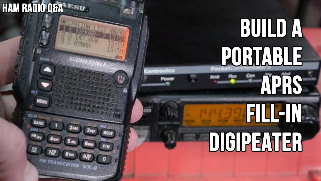 Build an APRS Fill In Digipeater - Ham Radio Q&A