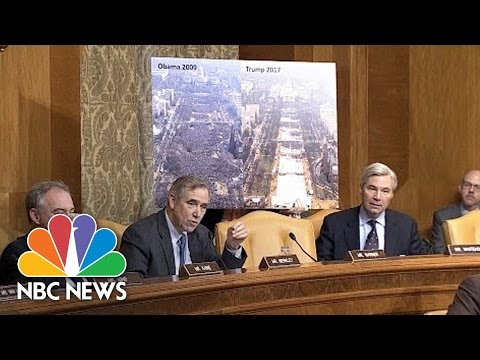 Senator Asks Budget Director Nominee To Compare Inauguration Crowd Sizes | NBC News