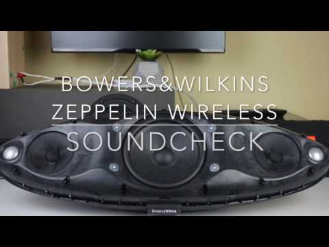 Bowers & Wilkins Zeppelin Wireless - Soundcheck...