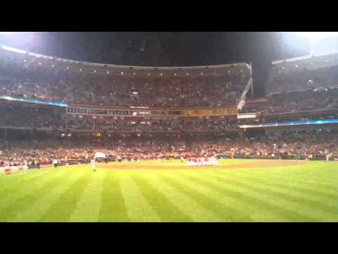 Jay Bruce's Divison Clinching Home Run With Marty Brennaman On The Call