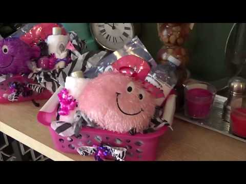 Spa party for girls (ages 10 - 12)  Part 2 - Loot bags