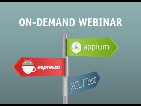 3 Mobile App Testing Frameworks You Have to Know: XCUITest‎, Espresso, and Appium