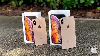 iPhone XS vs iPhone XS Max Unboxing with Camera Test!