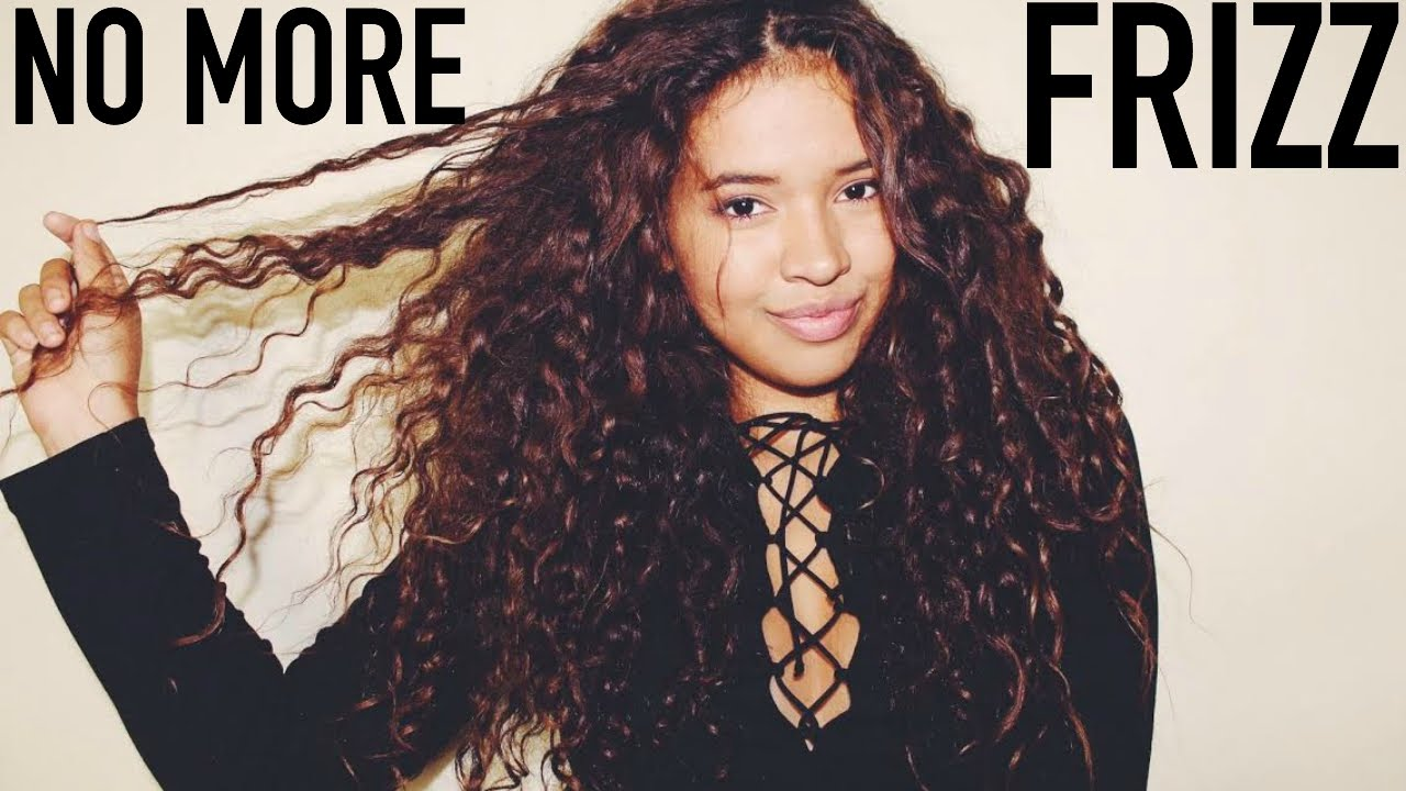 how to style wavy hair without frizz get rid of frizz how to reduce frizz for curly hair 3822