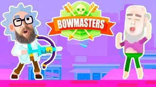 Video Dr. Sick vs Jeremy in BOWMASTERS SHOWDOWN Is Johnny Still the Ultimate Bowmaster? Epic Family Gaming download MP3, 3GP, MP4, WEBM, AVI, FLV Maret 2018