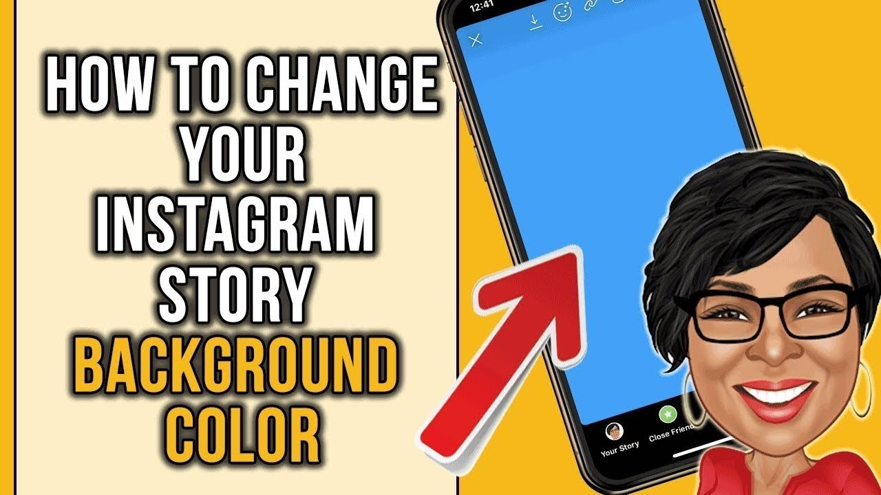 How To Change Instagram Story Background Color
