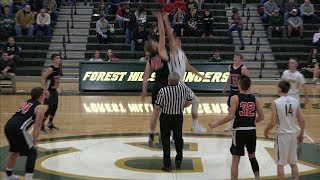 Forest Hills Varsity Boys' Basketball vs Central Cambria 1-15-18