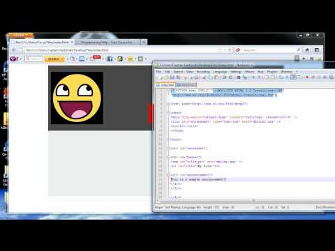 CSS Tutorial 10 - Structuring a Website With DIV Tags