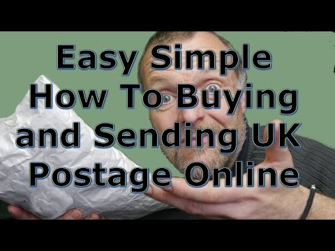 ✔ 👍 EASY SIMPLE - How To UK Postage Online    Sending A Parcel  🎁