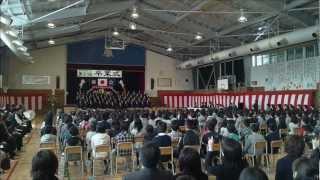 旅立ちの日に 小学校の卒業式