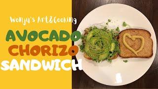Avocado Chorizo Patty Sandwich…