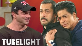 Sohail Khan Funny Comment On Salman Khan & Shahrukh Khan In Tubelight