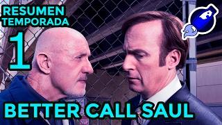 Resumen de la 1º temporada de BETTER CALL SAUL a toda leche !