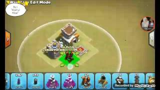 Base war th 8 anti naga P.E.K.K.A dan hoq terkuat update 2017