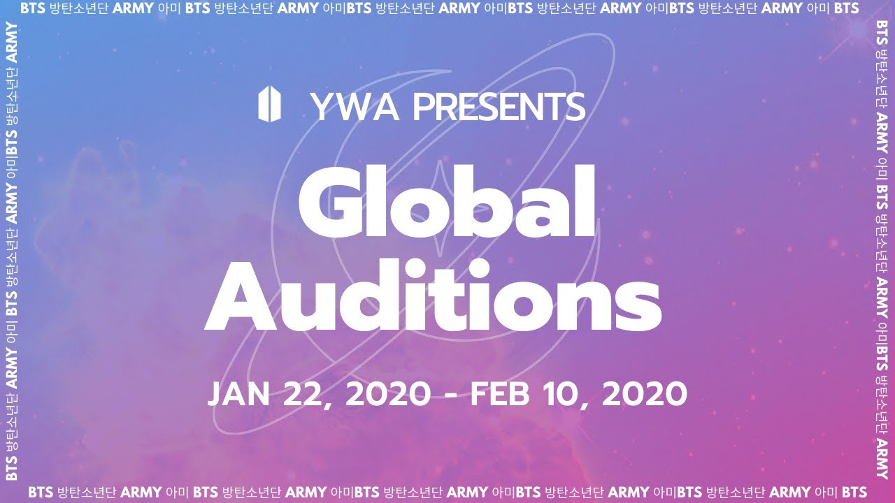 Your Wings Army 2020 Global Auditions Youtube