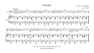 Gossec : Gavotte in D Major - Flute
