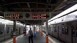 【遅れありの1分間隔ダイヤ】東武伊勢崎線せんげん台駅