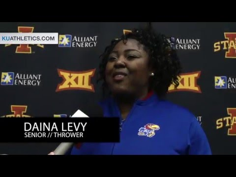 Jayhawks Claim Titles on Day One of Big 12 Indoor Championships // Kansas Track and Field // 2.26.16