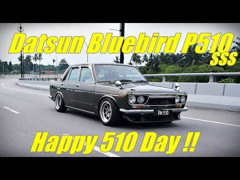 Datsun bluebird P510 sss In Conjunction Malaysia 510 Gathering Day